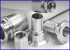 Stainless Steel Machined Ferrules Hose Crimping Ferrules
